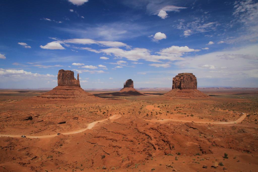 Monument Valley Navajo Tribal Park, Utah/Arizona, USA