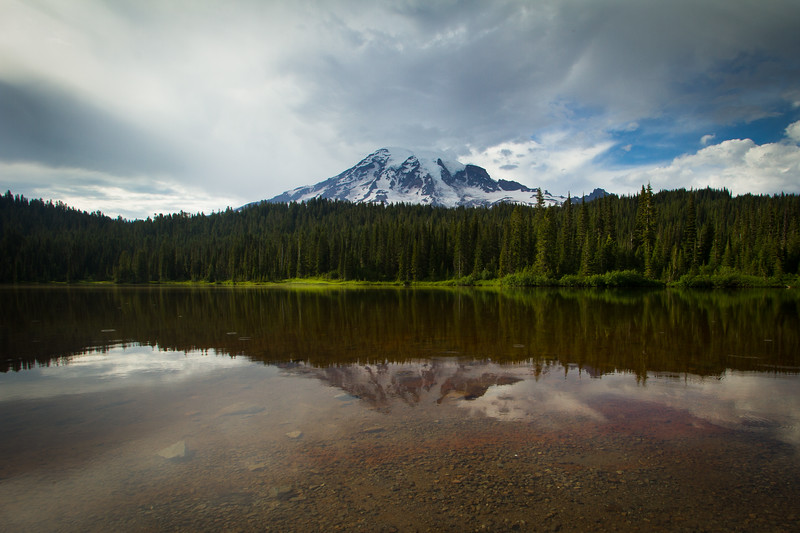 Reflection Lake, Mount Rainier National Park, Washington, USA