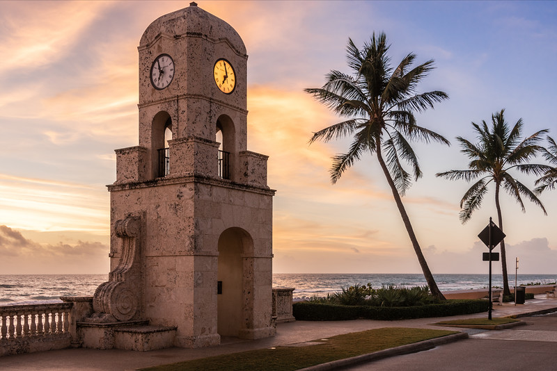 Palm Beach Clock Tower.