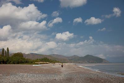 Natural Beach on the Turkish Riviera - Cirali, Turkey, Asia