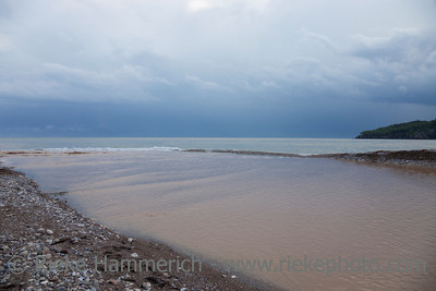 Flood Disaster - Overflowed River Mouth - Cirali, Turkey, Asia