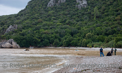 Damaged Cars flooded in the Ocean - Flood Disaster in Olympos, Turkey, Asia