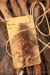 Chinese Electric Supply - Exposed Wires in Hong Kong, China, Asia