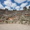 Amphitheater in Kas on Turkish Riviera - Kas, Antalya Province, Turkey, Asia