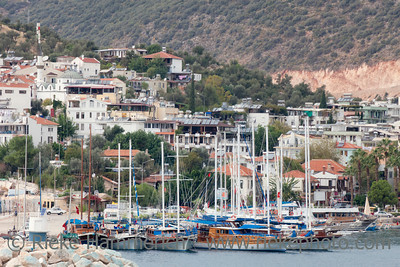 "Note for inspector:  kas belediyesi is not an advertisement, but in turkish language ""welcome to kas""                                                     Fishing Village Kas on Turkish Riviera - Kas, Antalya Province, Turkey, Asia"