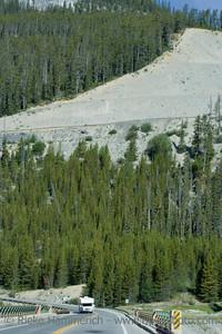 icefields parkway – sunwapta pass, canadian rockies, banff national park - adobe RGB