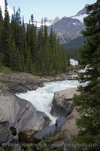 mistaya river in the rockies - banff national park, canada - adobe RGB