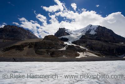 columbia icefield - athabasca glacier, jasper national park, canada - adobe RGB