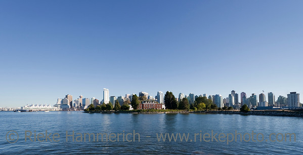 Panorama of Vancouver, British Columbia, Canada