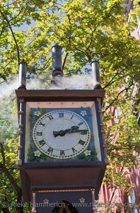 Steam Clock - Gastown, Vancouver, British Columbia, Canada