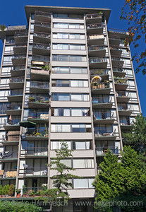 High-Rise Residential Building - Vancouver, British Columbia, Canada