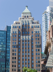 Marine Building in Art Deco Style in Vancouver – Burrard Street, Vancouver, British Columbia, Canada
