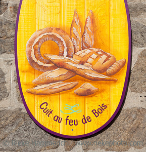 Bakery sign in Saint-Malo - Store sign in Saint-Malo, Brittany, France