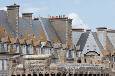 Walled city Saint-Malo - Saint-Malo, Brittany, France