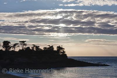 Rocky coastline in Saint-Malo - Rotheneuf, Saint-Malo, Brittany, France