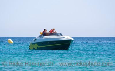 speedboat with family - saint-tropez, french riviera - adobe RGB