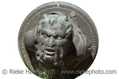 roman sculpture - cast-bronze, found in the citadel of saint-tropez, france - adobe RGB