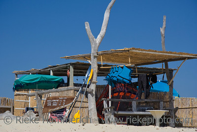 rent a windsurfing board - beach business at saint-tropez, french riviera - adobe RGB