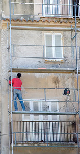 a great deal of work - shadow economy in saint-tropez, french riviera, france - adobe RGB