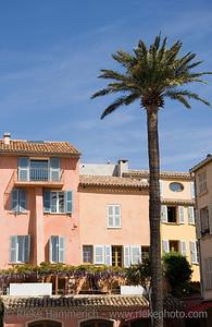 restaurant in saint-tropez - french riviera, mediterranean sea - adobe RGB