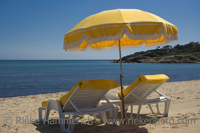 summer on the beach - saint-tropez, french riviera - adobe RGB