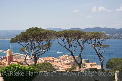 saint-tropez and the mediterranean sea - french riviera - adobe RGB