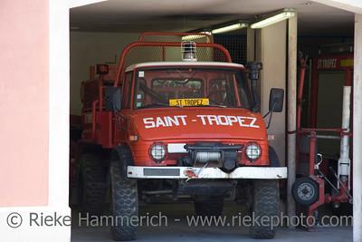 fire engine - saint-tropez, french riviera - adobe RGB