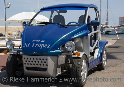 fortwo car - port of saint-tropez, french riviera - adobe RGB