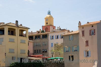 citylife in saint-tropez - french riviera, mediterranean sea - adobe RGB