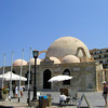 Mosque in Chania, a famous town on the island crete, greece