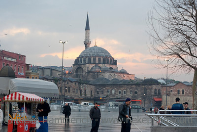 Rustem Pasa Mosque - City Life in Istanbul, Turkey, Europe