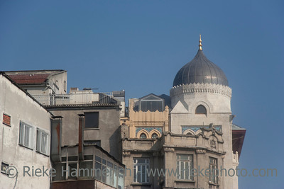 Buildings in Istanbul - Istanbul, Turkey, Europe