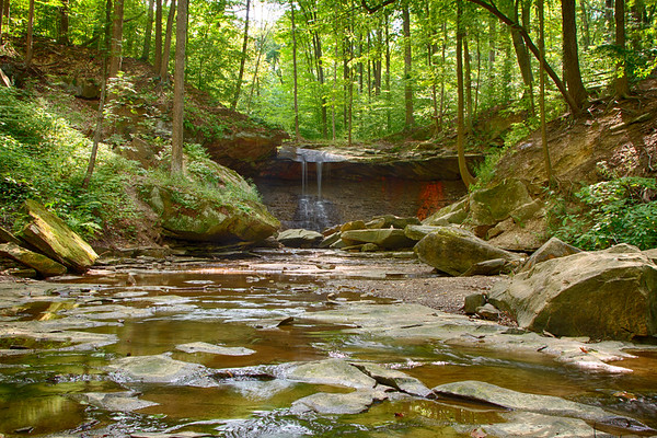 Blue Hen Falls in the Cuyahoga Valley National Park (2012-07-13)