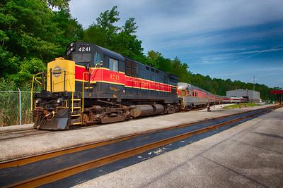 Cuyahoga Valley Scenic Railroad Fitzwater Train Yard