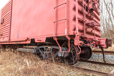 Cuyahoga Valley Scenic Railroad Abandoned Cars