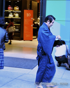Tradition and modern mix and coexist everywhere in Tokyo