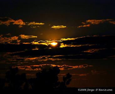 + Sunset over the bay in Truro, Cape Cod