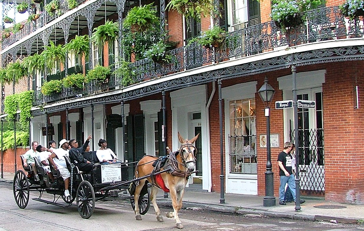 Royal and Dumaine, New Orleans