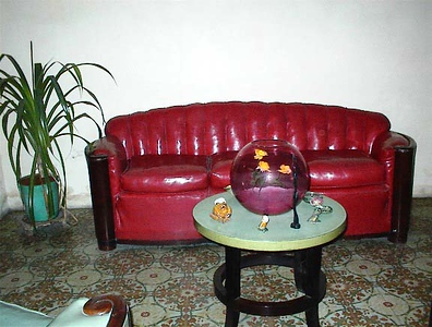 My Granmother Rosa Acevedo Batista's home in La Habana, Cuba - Known today as Casa de Rosa e Irene Calle Cardenas#103 Photograph in 2002