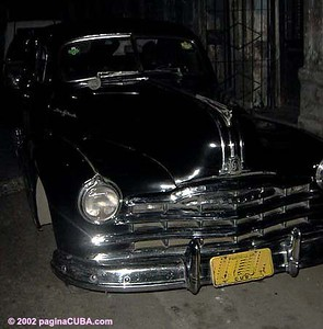 A friend's 1948 Pontiac. Photograph in 2002