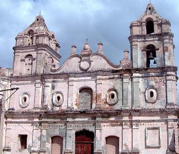 Old church in Camaguey, Cuba.