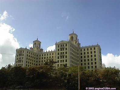 Hotel Nacional - photo taken in 2002 from the Malecon.