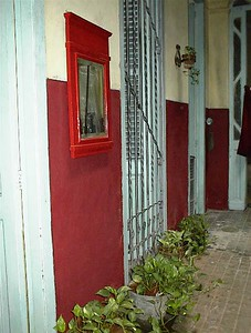 My Granmother Rosa Acevedo Batista's home in La Habana, Cuba - Known today as Casa de Rosa e Irene Calle Cardenas#103 Photograph in 2002