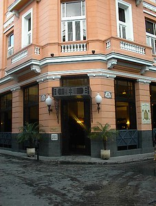 Newly restored Hotel Hemingway. Havana, Cuba.