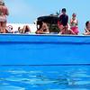 salt-water sunken pool