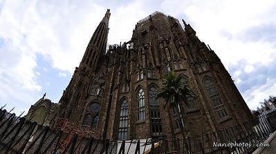"""2010-07-23_13-54-51 -Version2 """"""""Catedral Sagrada Familia Cathedral"""""""