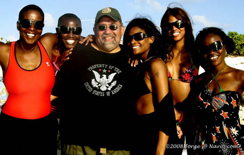 Here I am totally surrounded [ Turks & Caicos ]