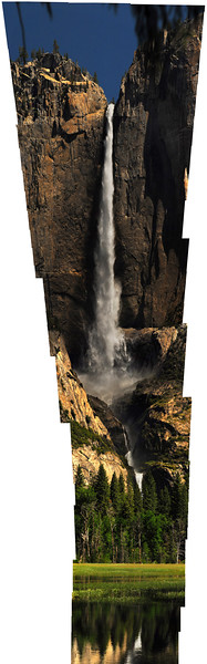 Yosemite Falls Stitch