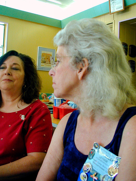 Cerise Duran, Mary Ellen LePage (AFA)