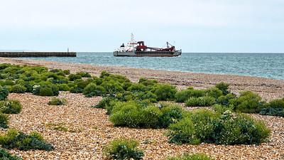 Ship Leaving Shoreham by Sea